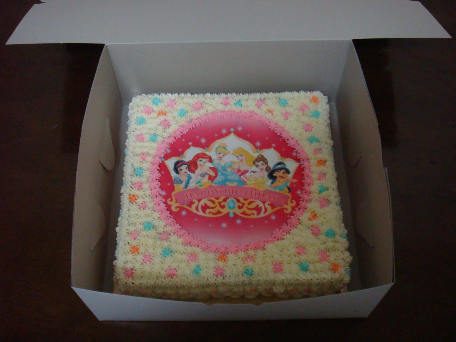 Hanim Bakes Princess Birthday Cakes