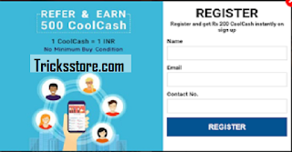 coolwinks refer and earn free offer trick