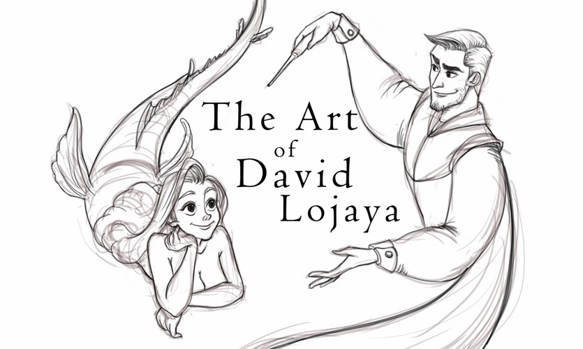 The Art of DAVID ADHINARYA LOJAYA: Disney Coloring page