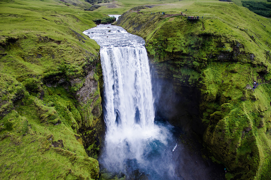 Skógafoss - 40 Reasons To Visit Iceland With A Drone