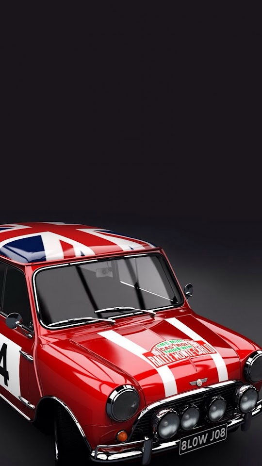 Mini Cooper Classic  Galaxy Note HD Wallpaper