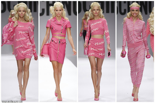 Moschino S/S 2015 // I'm a Moschino Girl in a Barbie World