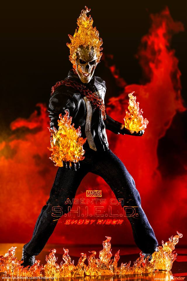 Akihabara Station   Noticias y reviews manga anime cmic figuras videojuegos Figuras Preview de Ghost Rider Agents of SH