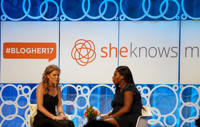 Serena Williams BlogHer17