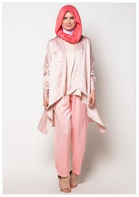 Model Pakaian Muslim Untuk Orang Pendek Terbaru