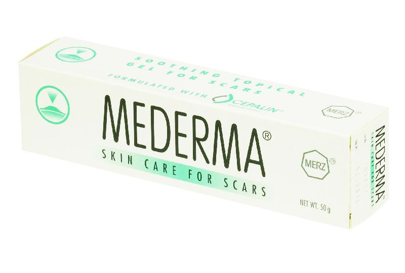 เจลลดรอยแผลสิว Mederma