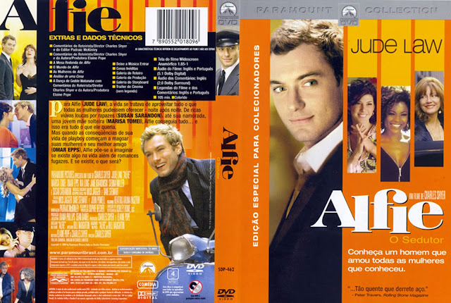 Capa DVD Alfie: O Sedutor