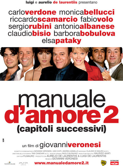 Poster of Manual of Love 2 (Manuale d'amore) 2007 UnRated 720p Italian DVDRip ESubs Download