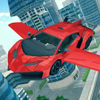 Flying Car 3D  Mod Apk (Free Purchases)