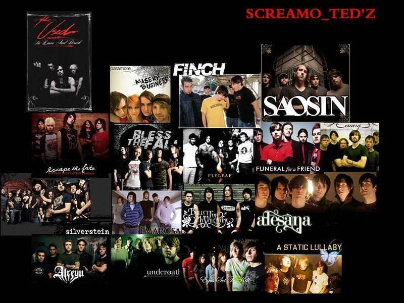 screamo bands wallpaper - photo #20