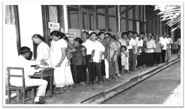 PRU 2 : 1964 : Konfrontasi Negara Jiran
