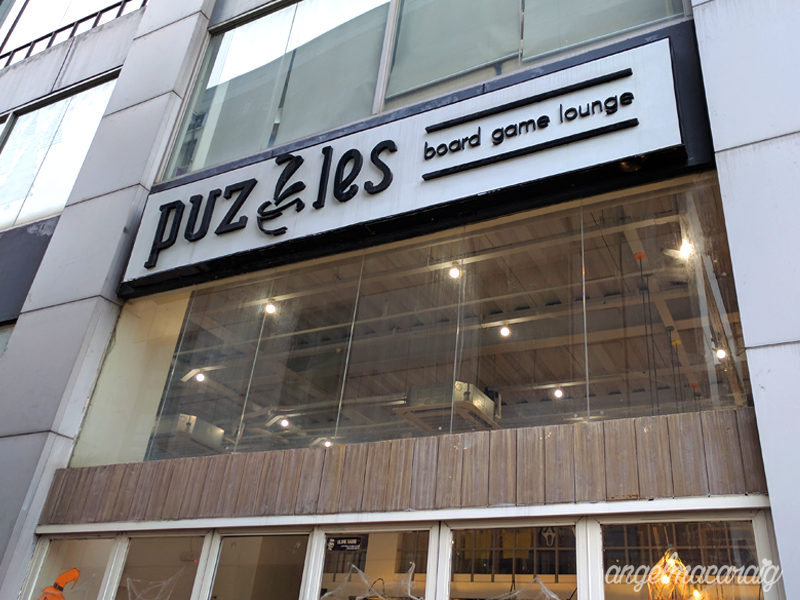 Puzzles Board Game Lounge (Exterior)