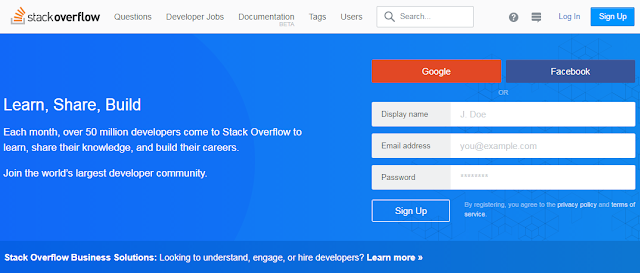 موقع stack overflow