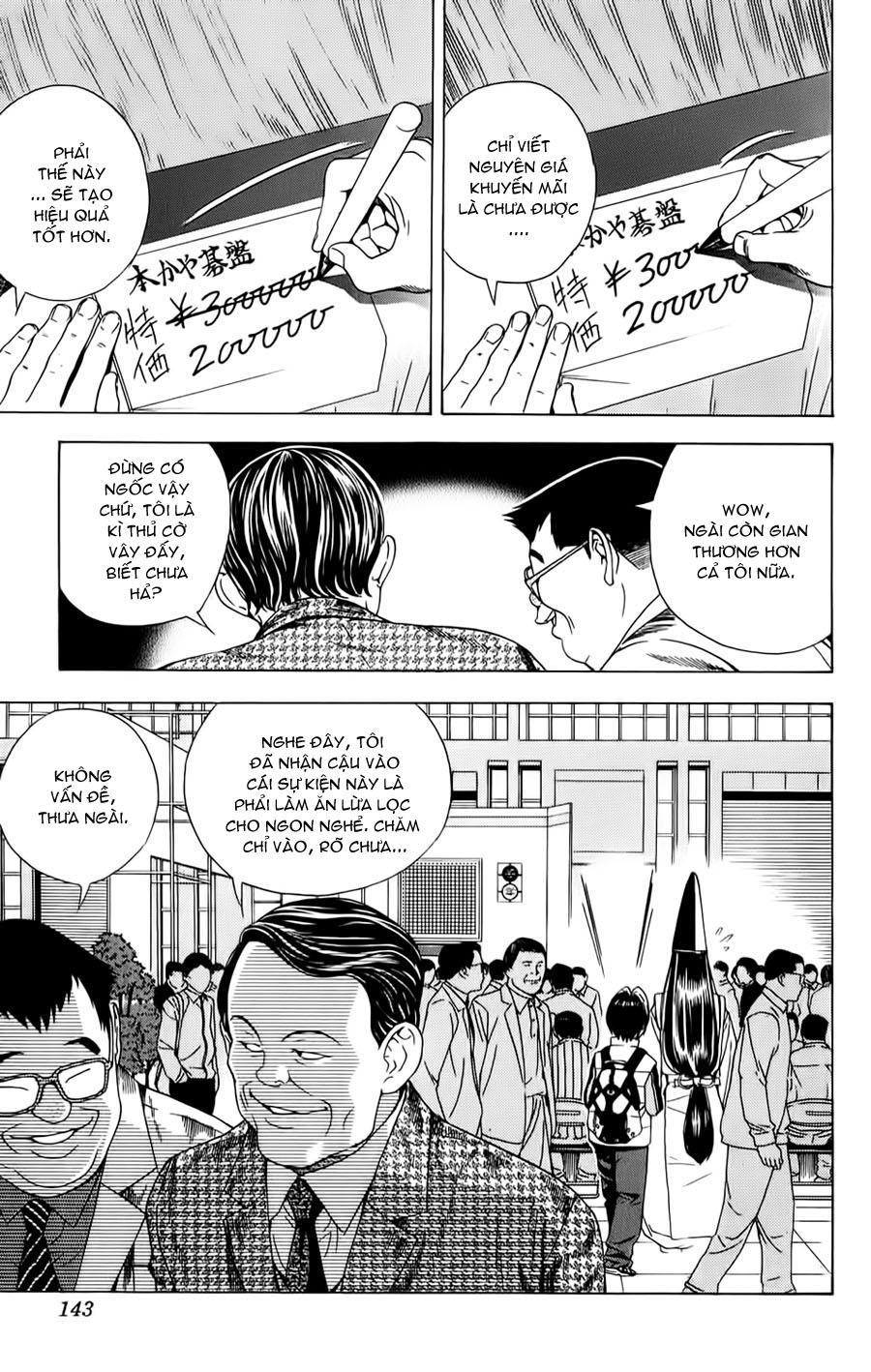 Hikaru No Go hikaru no go chap 102 trang 21