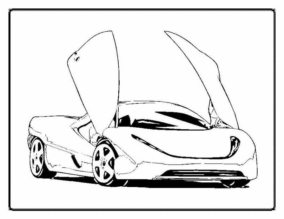 Race car coloring pages free printable pictures coloring for Coloring pages sports cars