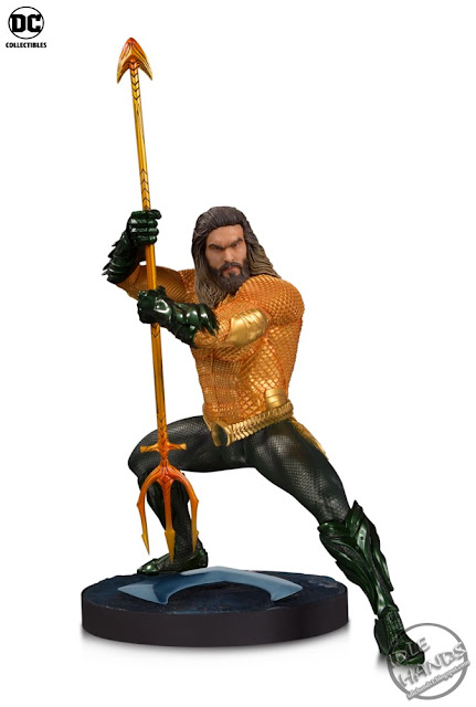 SDCC 2018 DC Collectibles Aquaman Movie Statue Aquaman
