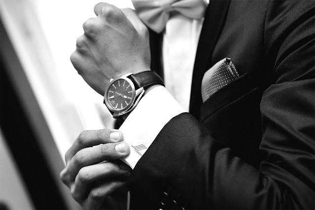 watch wedding accesories grooms