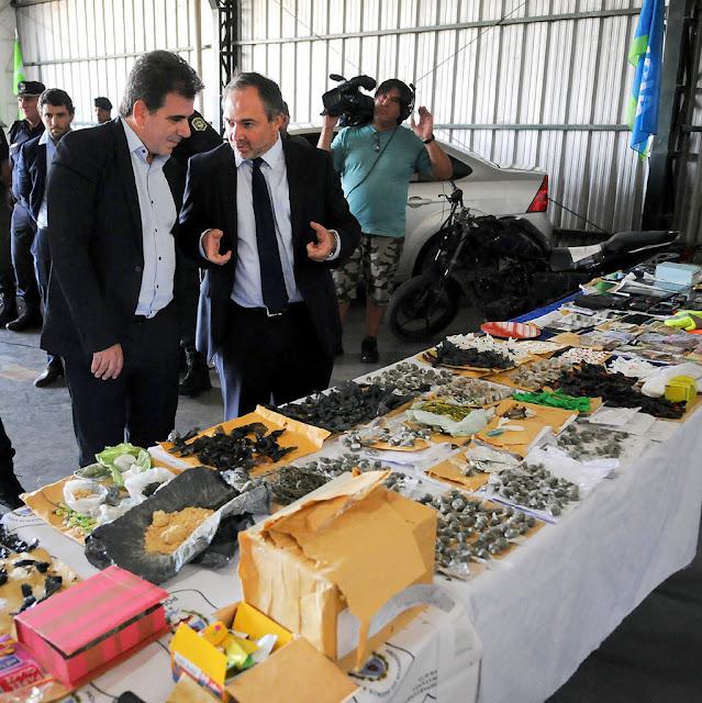 Ritondo supervisó operativo policial que desmanteló peligrosa banda narco en La Matanza