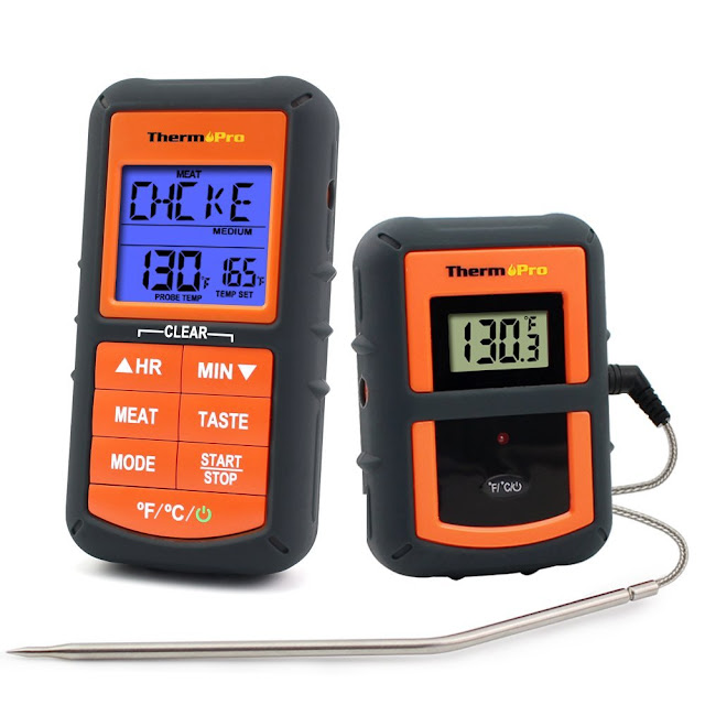thermopro tp07 digital food thermometer review