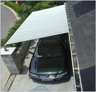 مظلات سيارات متحركة حديثة الصنع وبجودة جيدة