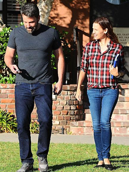 Ben Affleck and Jennifer Garner visited the family consultant