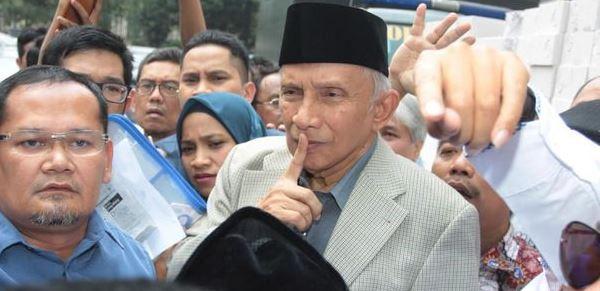 Amien Rais Kangen Komen Pedas, Kali Ini Soal Paket Kebijakan Ekonomi ke-16 Jokowi