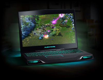 Playing Games in Alienware M14x