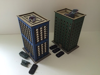 The green and blue towers picture 4