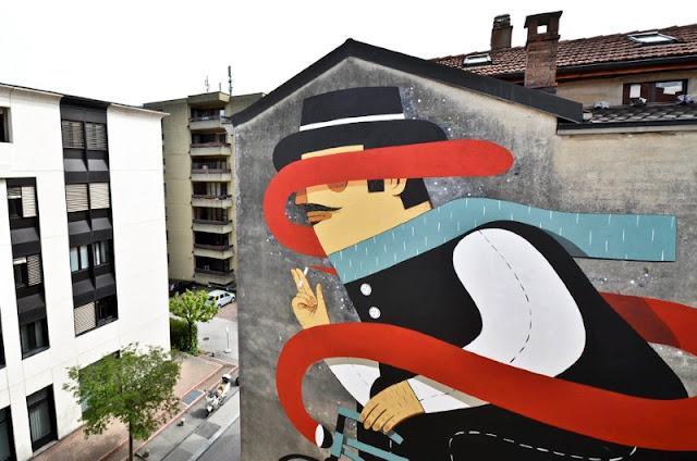 Уличный художник из Италии. Агостино Якурчи (Agostino Iacurci) 31