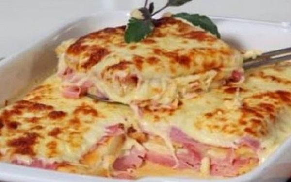 Receita de lasanha de frango com catupiry (Imagem: Reprodução/Internet)
