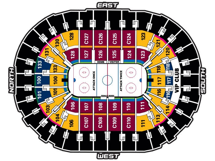 Quicken Loans Seating Chart