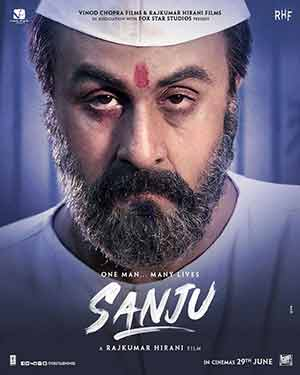 Sanju 2018 Bollywood 300MB Hindi Movie WEBDL 480p