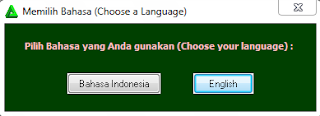 Select your Language.