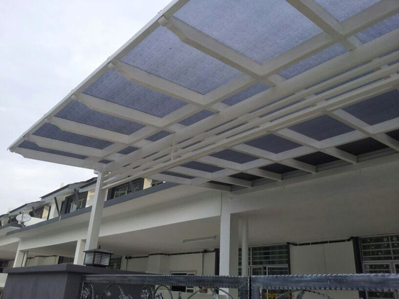 Sriraya Engineering Iron Works Bumbung Poly Awning