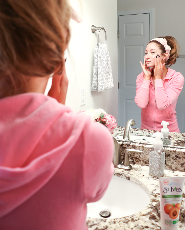 makeup removal routine
