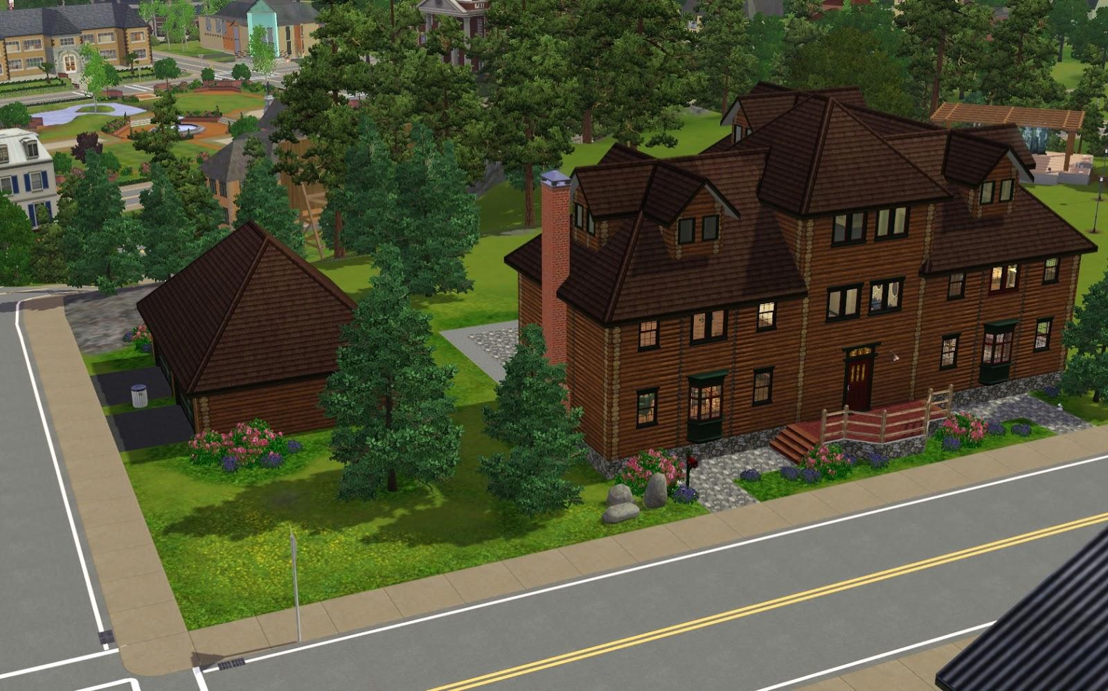 Summer S Little Sims 3 Garden Sunset Valley The Sims 3