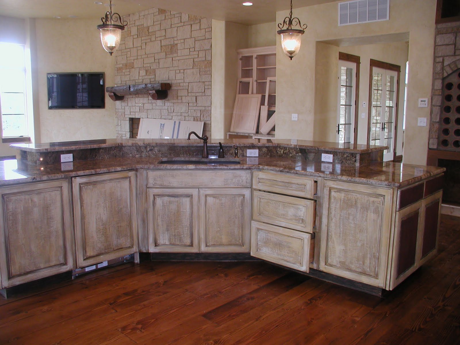 Transform Your Kitchen -Tuscan Plaster For Kitchen