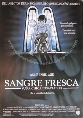 Sangre fresca (Una chica insaciable), John Landis,  Anne Parillaud, Anthony LaPaglia, Robert Loggia