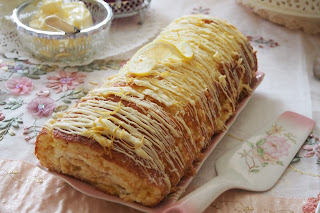 Lemon Curd Cream Swiss Roll