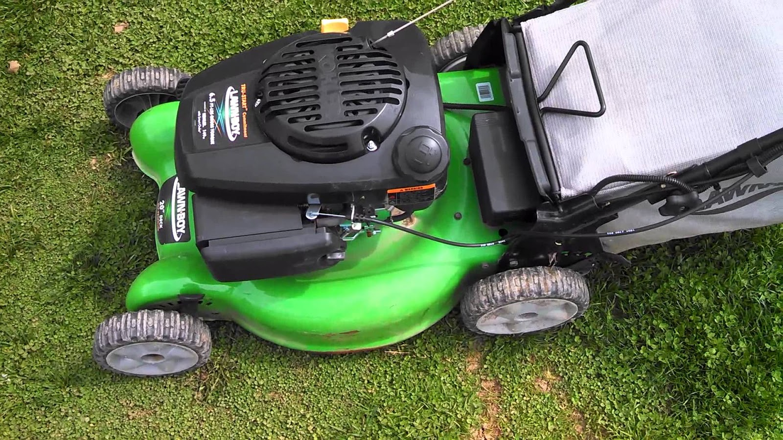 The way to Change the Oil on a Lawn Boy 6 5 Push Mower