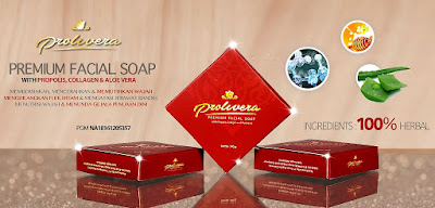 sabun perawatan wajah Prolivera Premium Facial Soap