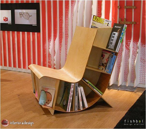 70 Best Bookshelf Designs 25
