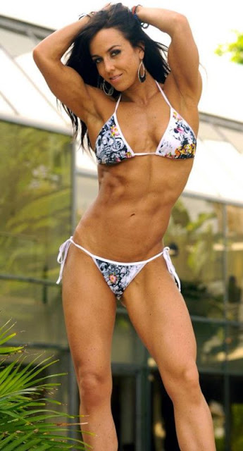 Catherine Holland - IFBB Pro Figure Competitor