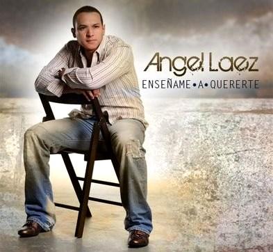 Foto de Angel Laez en portada de disco