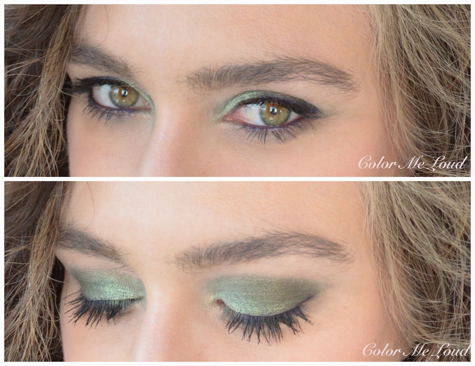 1664f8ed92ea2 In-action  Tom Ford Eye Color Duo  02 Raw Jade on eyes
