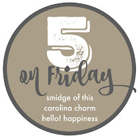 http://www.northcarolinacharm.com/2017/11/five-on-friday.html