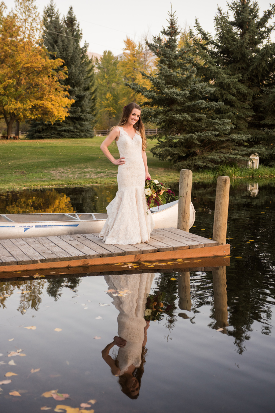 Montana Bride / Dock / Cali Frankovic Photography