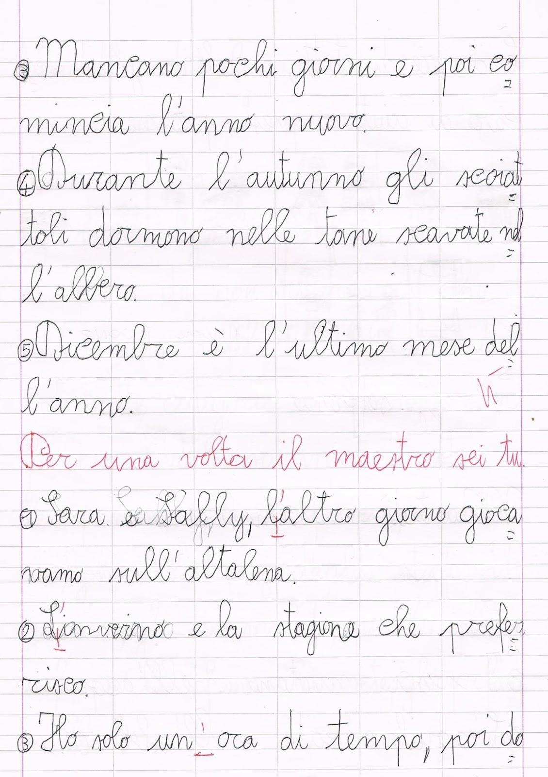 Super Verifica di lingua italiana - l'apostrofo PT93
