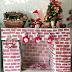 Camino finto fai da te con i cartoni donneinpink magazine for Finto camino natalizio
