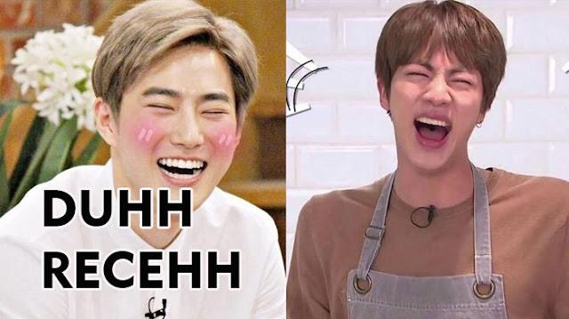 Jokes Receh Suho Exo dan Jin BTS